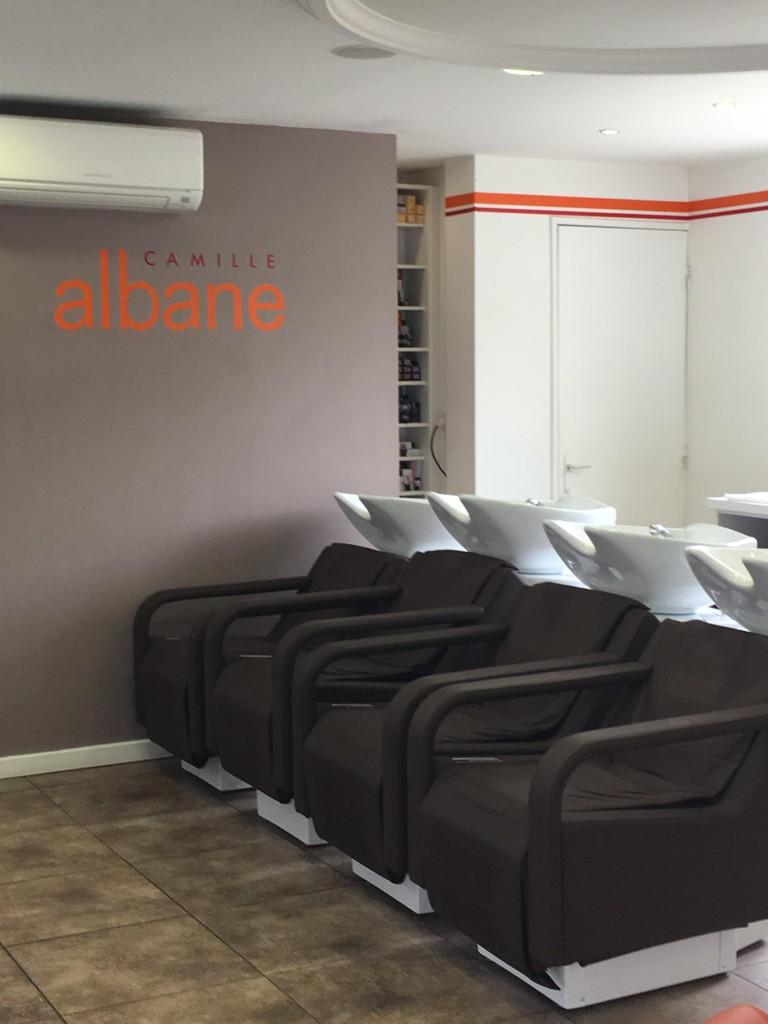 Les bacs à shampooing - Camille Albane Caen