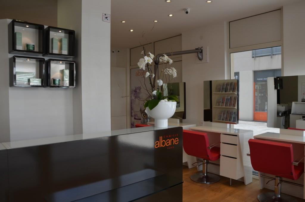 Le salon de coiffure à Craponne - Camille Albane