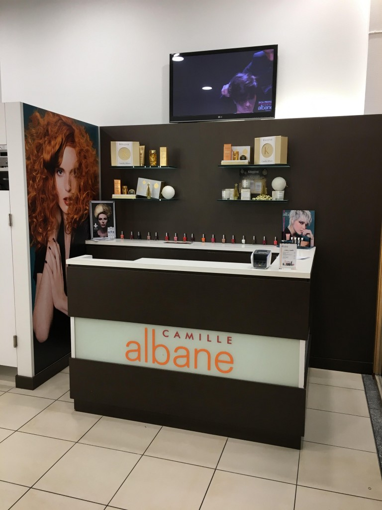 Salon Informations Camille Albane Luxembourg Auchan