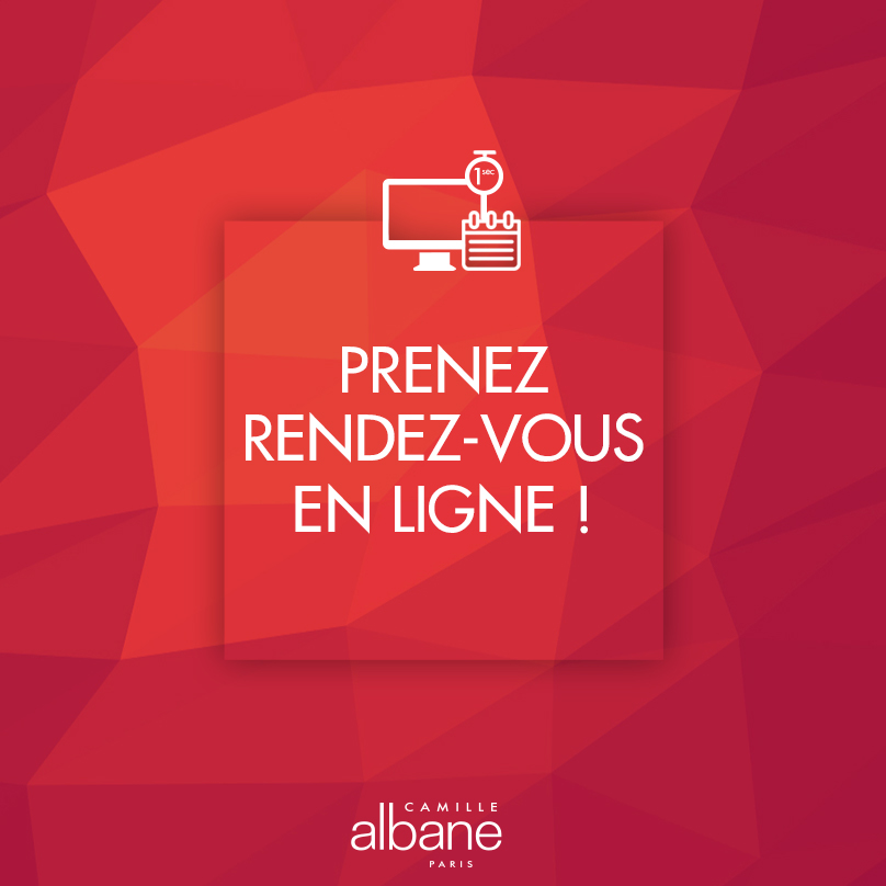 Prenez un rendez-vous chez le coiffeur - Camille Albane Lyon Tessier