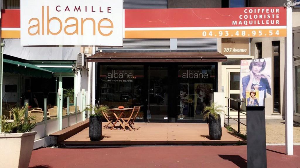 Espace coiffure à Mandelieu La Napoule - Camille Albane