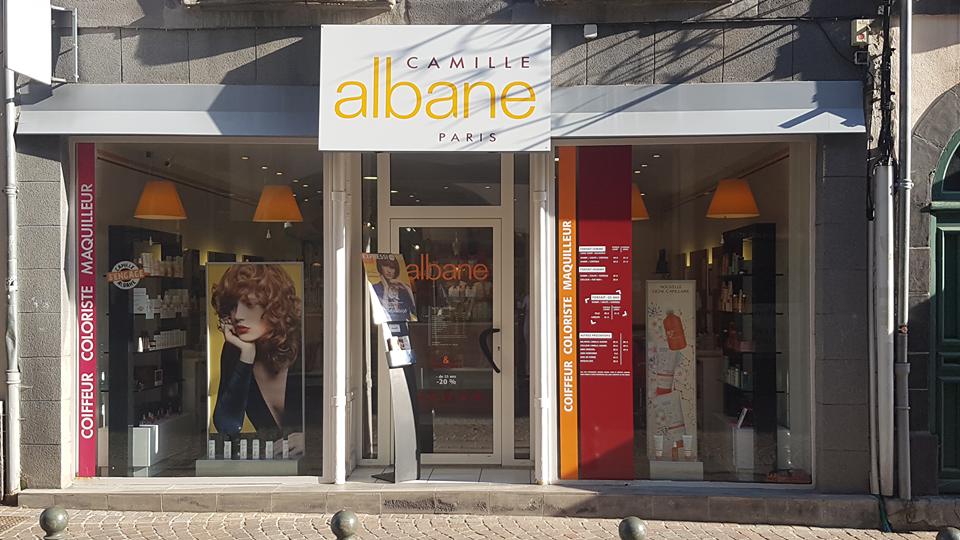 Salon de coiffure - Camille Albane Riom