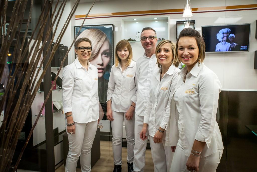 L'équipe du salon de coiffure Camille Albane Saint Omer